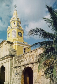 Clock Tower, Cartagena.