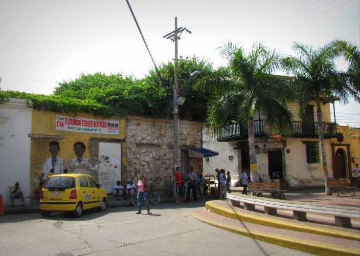 Getsemani Street. Photo by Bryanna Plog.