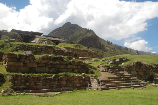 Ruins at Chavín (c. 400 B.C.)