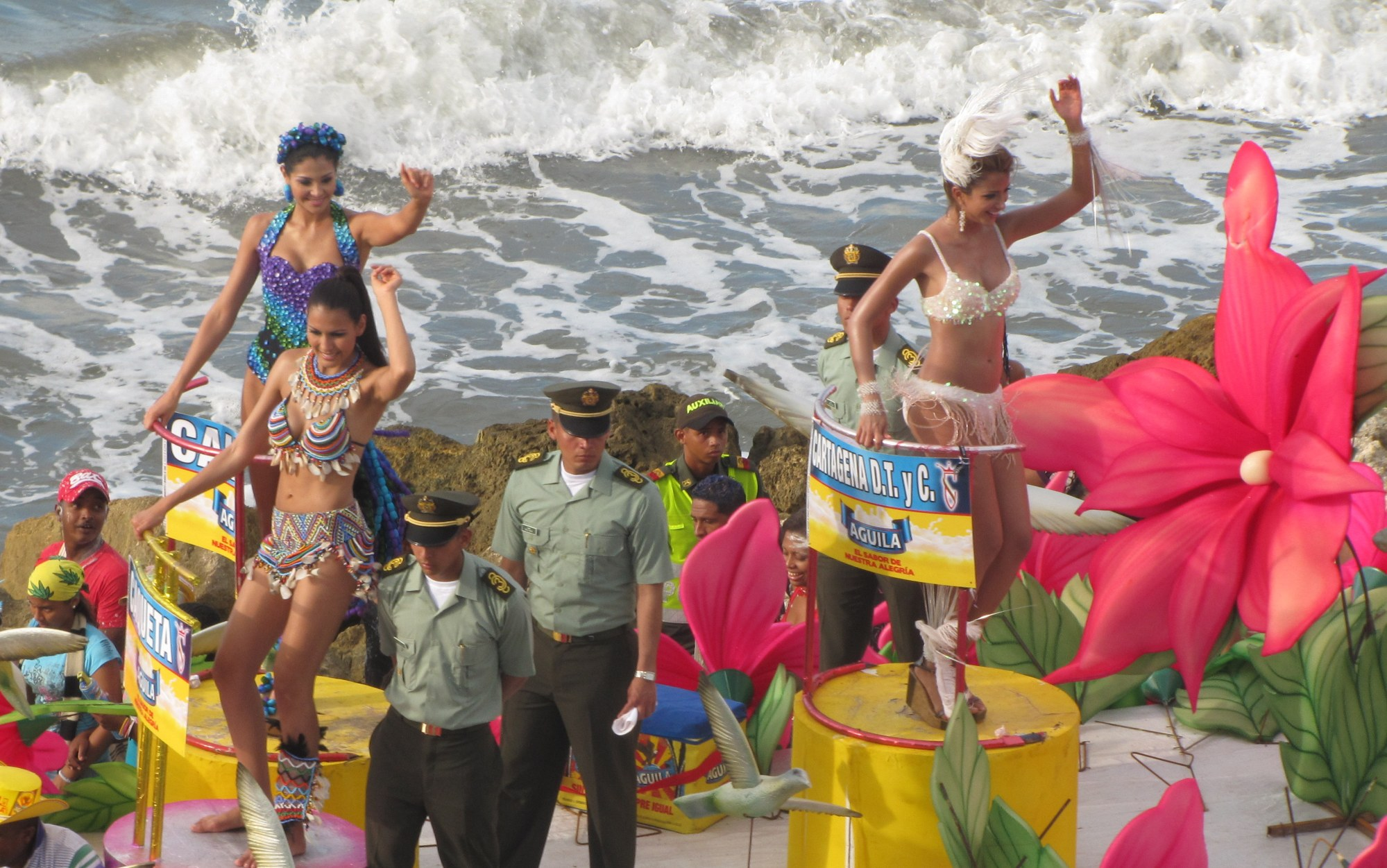 Colombian women, Cartagena, beauty contest