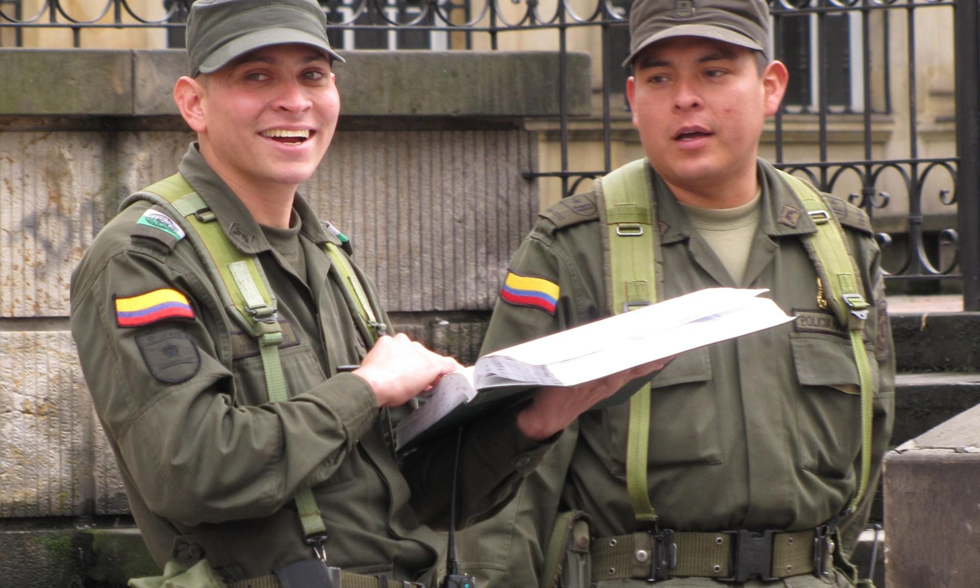 Police Officers in Bogota