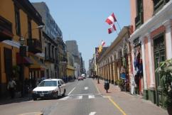 Downtown Lima, Peru.
