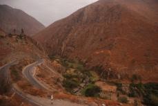 Road between Lima and Huaraz.