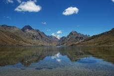 Lago Querococha, on the road between Huaraz and Chavín.
