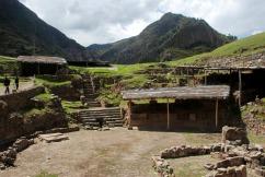 Chavin ruins, c. AD 400.