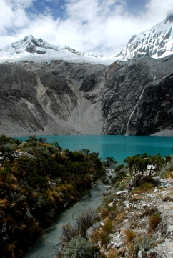 Hike to Laguna 69, Huascarán National Park.