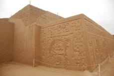 Huaca Arco Iris, near Trujillo. Built by the Moche culture A.D. 100-800.