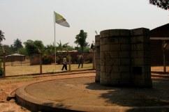 In Ujiji, near Kigoma in western Tanzania, commemorating the spot where Stanley famously met Livingstone in 1871