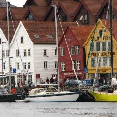Bergen historic waterfront.