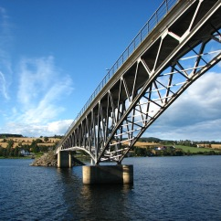 Bridge over Lake Mjøsa.