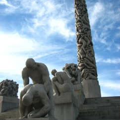 Vigeland Sculpture Park, Oslo.