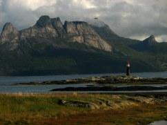 Arctic scenery near Hamarøy.