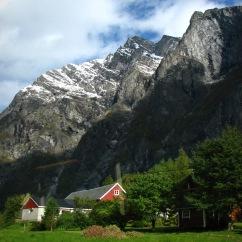 Mountains near Åndalsnes.
