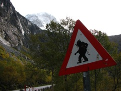 Troll crossing, Åndalsnes.