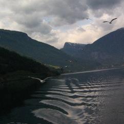 On Aurlandsfjord.