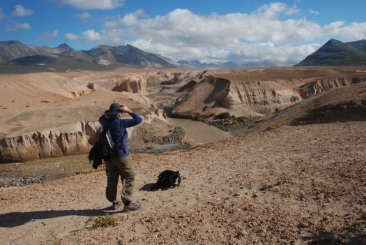 At the Lethe River, Valley of Ten Thousand Smokes, Katmai National Park.