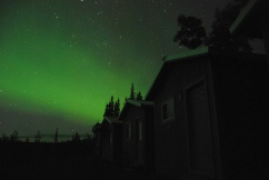 Northern Lights, Wrangell-St. Elias National Park.