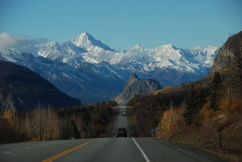 Glenn Highway in autumn.