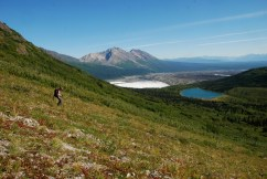 Donoho Basin and Kennicott Glacier, Wrangell-St. Elias National Park.