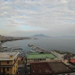 View of Bay of Naples and Vesuvius