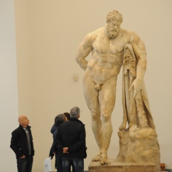 Hercules in Naples Archaeology Museum