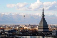 Skyline of Turin (Torino)