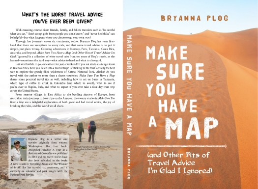 Back and front cover for Make Sure You Have a Map