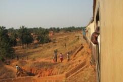 """Train near Kigoma, Tanzania, from """"Don't Talk to Strangers"""""""