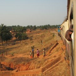 "Train near Kigoma, Tanzania, from ""Don't Talk to Strangers"""