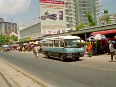 "City busy, downtown Dar es Salaam, Tanzania from ""Avoid Public Transportation"""