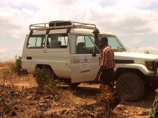 """TCRS Land Rover trip in western Tanzania, from """"Don't Accept Gifts from People You Don't Know"""""""