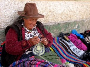 """Woman in Huaraz, Peru, from """"Take as Many Pictures as You Can"""""""