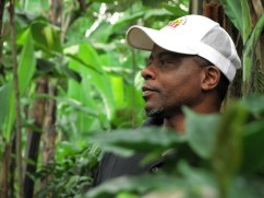 "Coffee farmer Hamidu, near Arusha, Tanzania, from ""Know What's in Your Drink"""