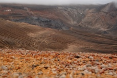 """Novarupta and volcanic pumice in Katmai NP, Alaska from """"Stick to the Trail"""""""