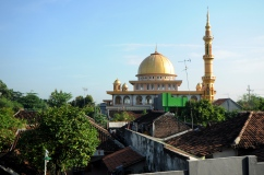 Mosque, Probolinggo, Java.