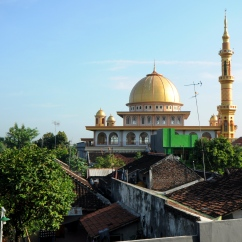 Mosque, Probolinggo, Java.