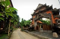 Hindu Temple, Ubud, Bali.