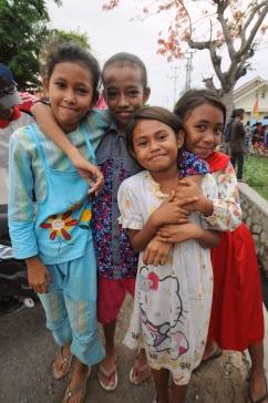 Girls in Bima, Sumbawa.