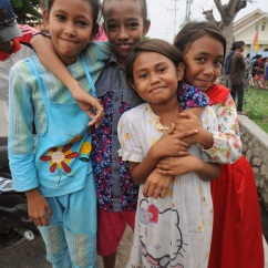 Girls in Bima, Sumbawa.