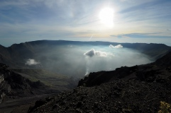 Mt. Tambora caldera, Sumbawa.