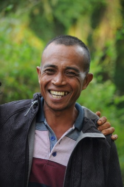 Tambora hiking guide, Syamsudin, Sumbawa.