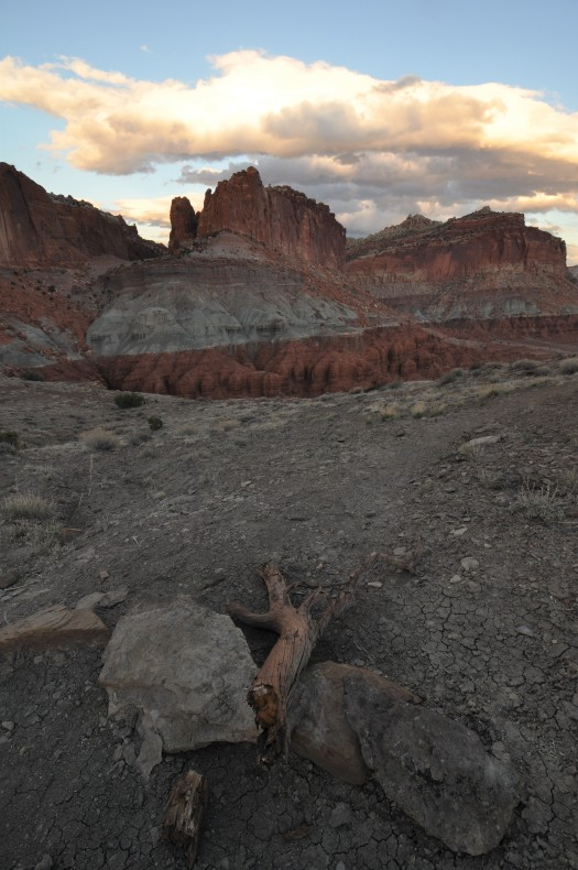 Spring sunset in Capitol Reef National Park, Utah, USA