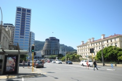 Parliament buildings, Wellington.