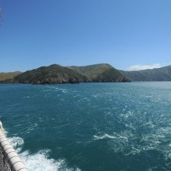 Ferry crossing west to Picton from Wellington