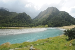 Matukituki River, Mt. Aspiring National Park.