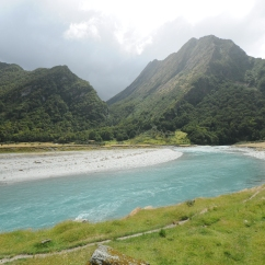 Matukituki River, Mt. Aspiring National Park.