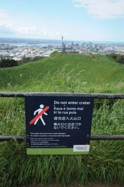 Maungawhau/Mount Eden, Auckland.
