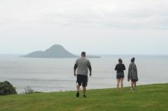 View of Whale Island, Whakatāne.