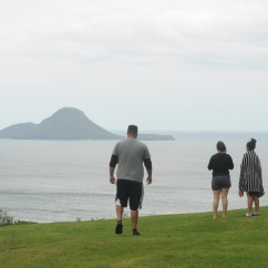 View of Whale Island, Whakatāne.